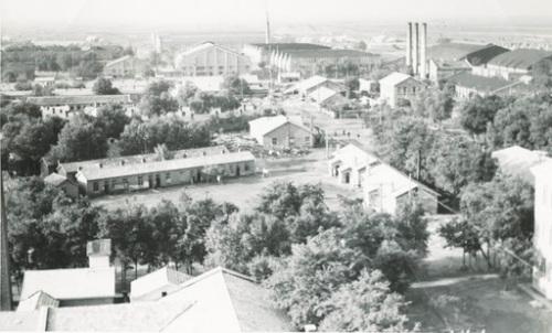 当年的生产厂区
