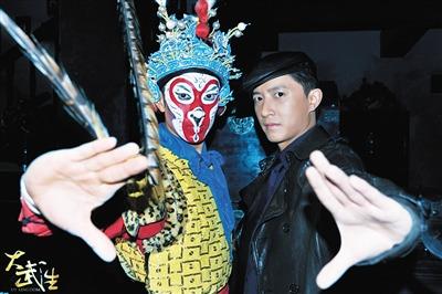 韩庚曾在《大武生》中接触过猴王的京剧扮相。