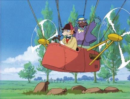 由宫崎骏参与导演的动画连续剧《名侦探福尔摩斯》,让大侦探和他的医生助手变身为狗的形象,充满科幻感的改编也引来争议。