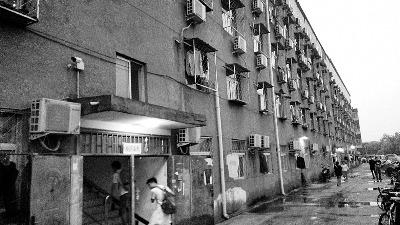 阳光故里公寓,李斯达杀戮周云露的案发地 摄/法制晚报记者 张群琛
