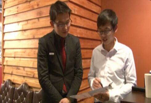 中国留学生芝加哥投资创业 推广中国饮食文化(美国中文网)