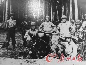 二戰中的華支隊員。