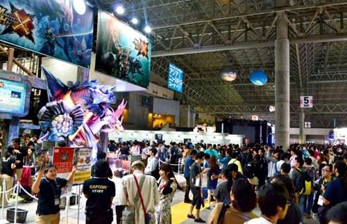 """""""东京电玩展""""开幕。"""