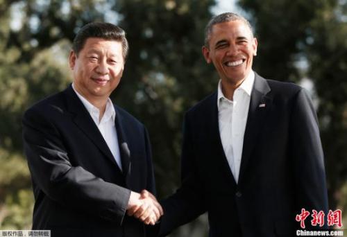 材料图:本地时刻2013年6月7日,国家国度主席习近平与美国总统奥巴马在加利福尼亚州安纳伯格庄园举办中美圆首接见会面。