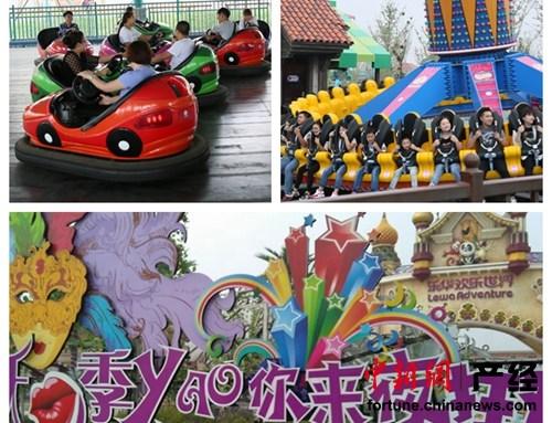 作为乐华城的龙头项目之一,乐华欢乐世界已成为拉动当地旅游业的重要引擎。