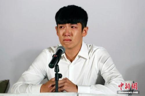 台湾男星柯震东曾因吸毒被行政扣留14天 韩海丹 摄(材料图)