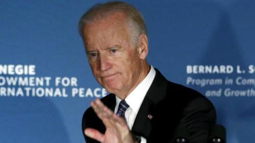 副总统拜登没有参与首场辩论,亦未表明将会参选,不过不代表他之后不会参选。