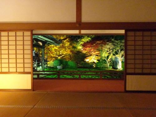 """在日本庭园中观赏红叶会体验到一种别样的""""精炼之美""""。"""