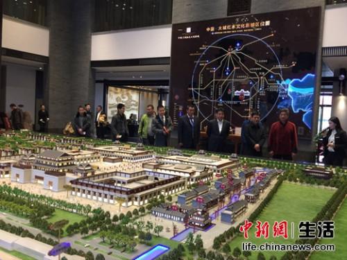 中国红木城沙盘