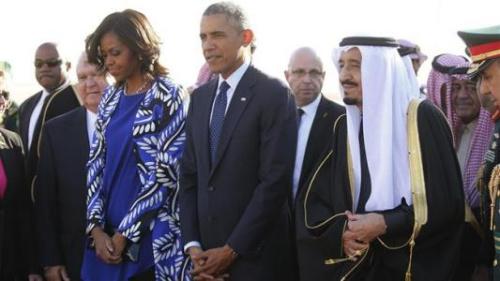 """奥巴马""""收礼""""清单曝光 沙特送米歇尔天价珠宝"""