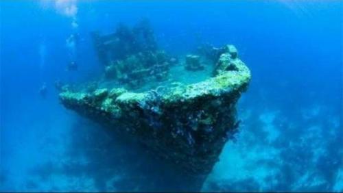 盘点世界各地海底著名沉船:吸引大批探险家寻宝