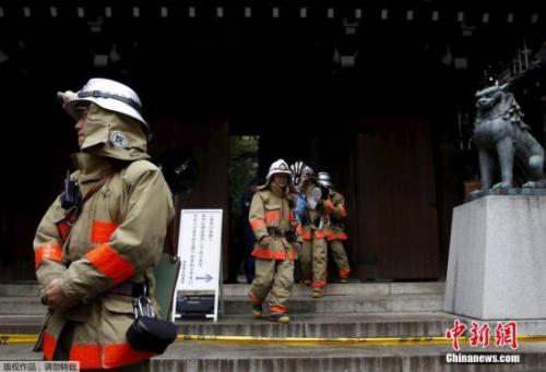 日本警方逮捕靖国神社爆炸嫌犯 系27岁韩国男子