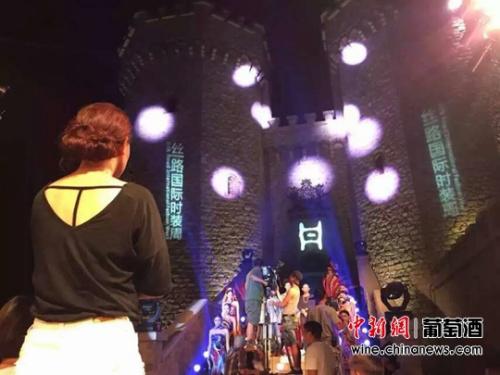 陕西张裕瑞那城堡酒庄成为许多影视节目的拍摄地。