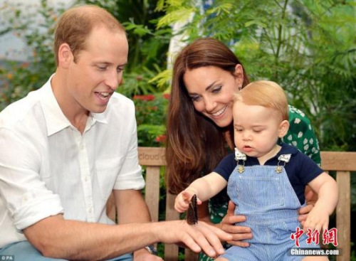 威廉王子兑现承诺接受女孩专访:乔治翘首盼圣诞