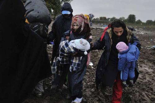 逾万叙难民滞留叙约边境处境恶化 急需人道援助