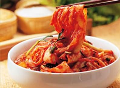 资料图:韩国泡菜。