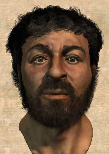 研讨团队重塑的耶稣表面。