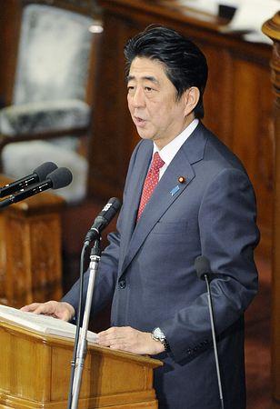 安倍将在日本国会做外交报告 屡次拖延曾遭质疑