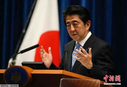 安倍有意推迟消费税上调 提前举行日本众院选举