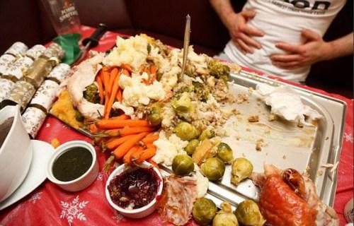 大饱口福:英厨师做巨型圣诞晚餐 或破吉尼斯纪录