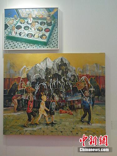Hi21冬季艺术展现场。宋宇晟 摄