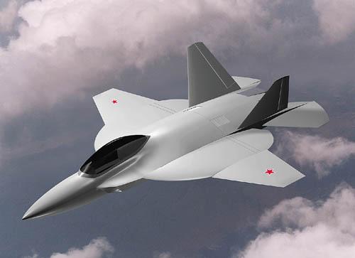 初期俄罗斯米格I-2000隐形战争机设想图