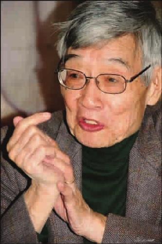 董鼎山先生资料照 图片来源:新民晚报