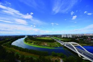 通州温榆河畔