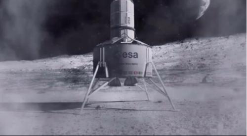 """欧洲航天局拟3D打印""""月球村"""" 推进人类登陆火星"""