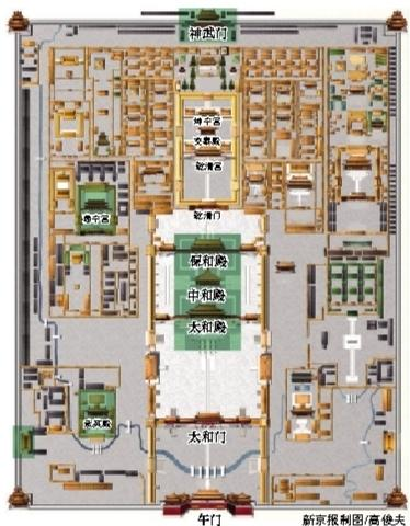 故宫三大殿暂无游客入内参观计划 图片来源:新京报