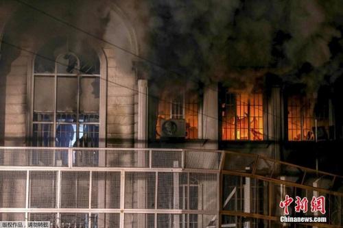 伊朗指责沙特蓄意炸伊使馆 两国紧张关系再升温