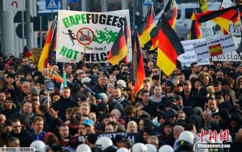 科隆性侵事件考验默克尔 德难民政策恐将收紧
