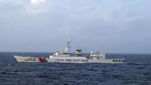 日方大肆渲染中国武装海警船巡航钓鱼岛
