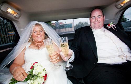 爱尔兰肥胖夫妻共怒减150公斤 曾压坏4张床(图)
