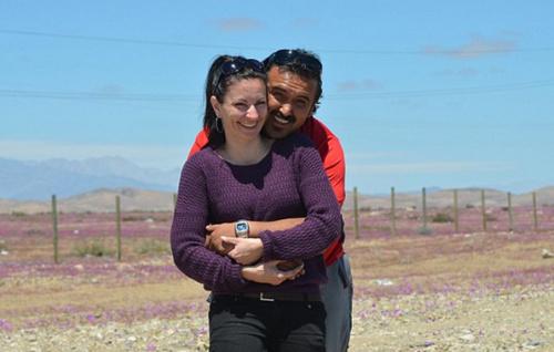 德国女子在电视上对智利矿工一见钟情 幸福结缘