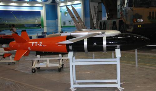 材料图:国家FT-2准确制导炸弹