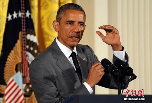 资料图:美国总统奥巴马。