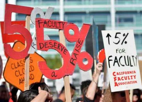 美加州州立大学或面临最大规模罢工 持续5天