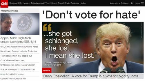 CNN網頁解圖。