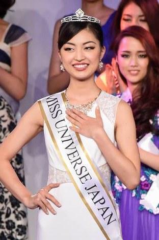 环球小姐日本区比赛揭晓 22岁女大学生夺冠(图)