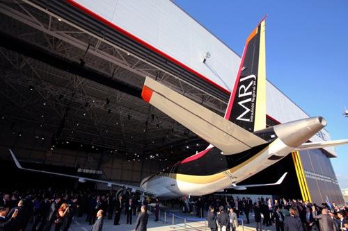 与美国差距过大 日本国产客机MRJ四次延期交付