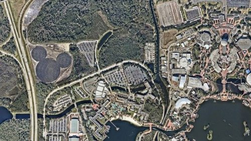 """美佛州现最大""""米老鼠"""" 原是太阳能发电厂(图)"""