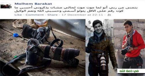 巴拉卡特和他的摄像机。