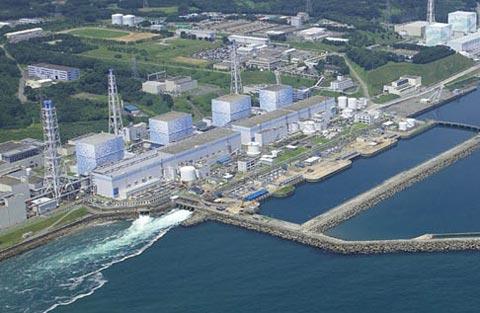 资料图:福岛核电站。