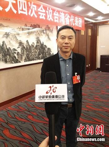 天下人大代表、武汉理工大学中原学院董事长张晓东 (民生 摄)