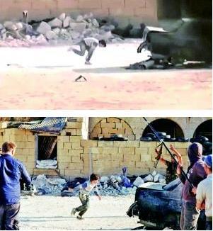 叙利亚英雄救美。