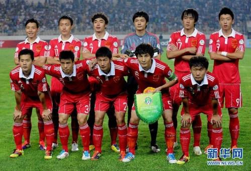 2011年国家队。图像来历:新华社。