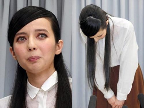 """日本女星谈\""""小三\""""丑闻痛哭 向男方老婆低头道歉(图) [有意思]"""