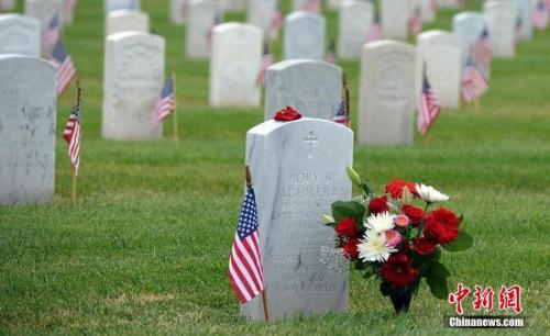 美军墓地。