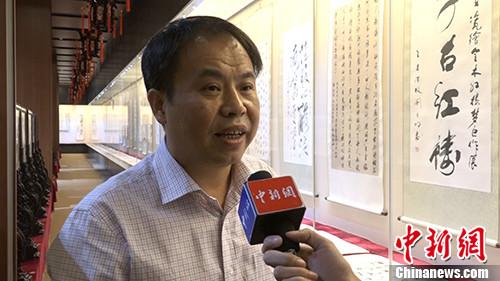 海昏侯墓考古开掘名目领队杨军承受了中新网(微信公家号:cns2012)记者单家采访。